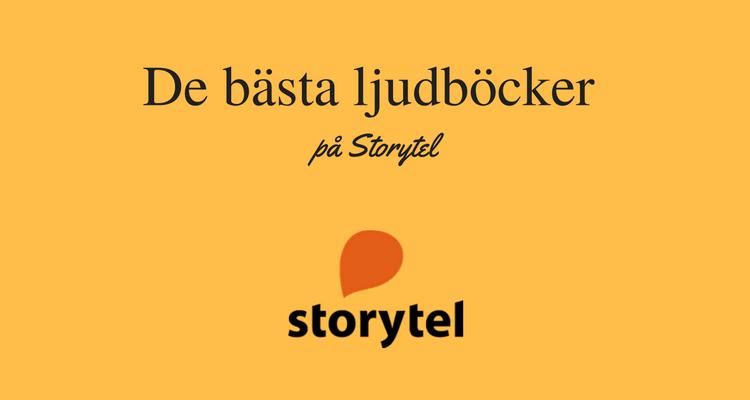 Bästa ljudböcker på Storytel