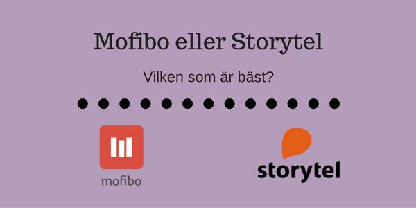 Mofibo eller Storytel
