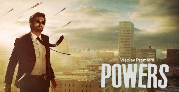 Powers er en bra serie på Viaplay
