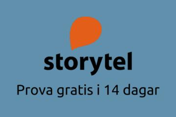 Prova Storytel gratis