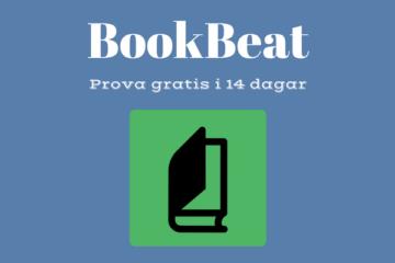 Prova BookBeat gratis i 14 dagar