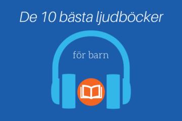 bästa ljudböcker för barn