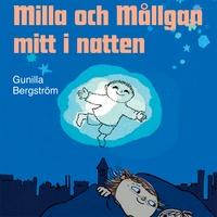 Milla och Mållgan mitt i natten bok på Storytel