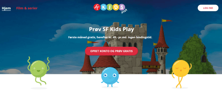 Gratis barnfilm hos SF Kids Play