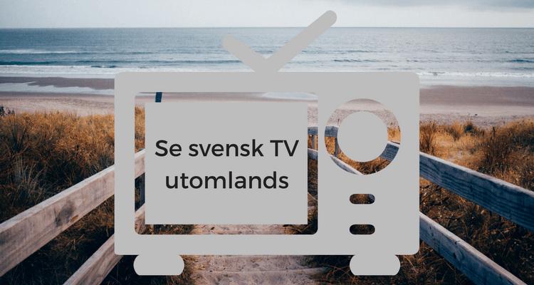 Se svensk tv online gratis