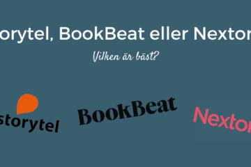 Storytel eller Bookbeat eller Nextory