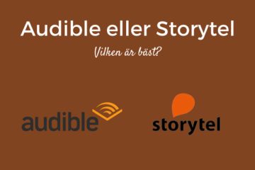 Audible eller Storytel