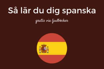 Så lär du dig spanska