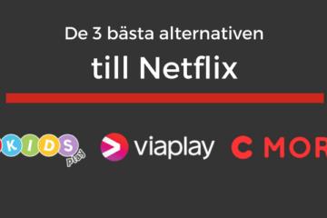 Bästa alternativen till Netflix