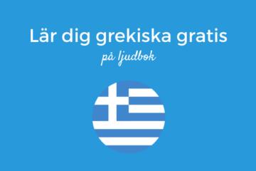 Lär dig grekiska gratis