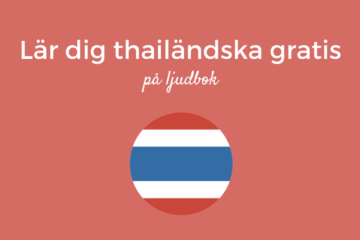 Lär dig thailändska gratis