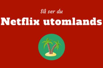 Netflix utomlands