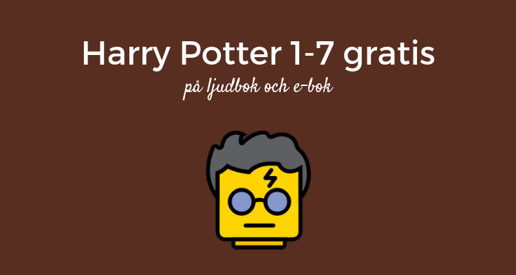 Harry Potter gratis på ljudbok