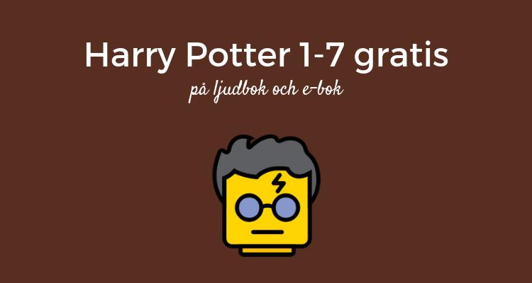 Harry Potter gratis på ljudbok