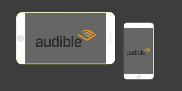 Audible ljudbock app