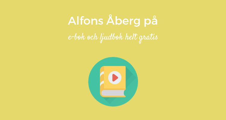 Alfons Åberg på e-bok och ljudbok