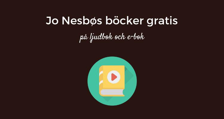 Jo Nesbø på ljudbok och e-bok